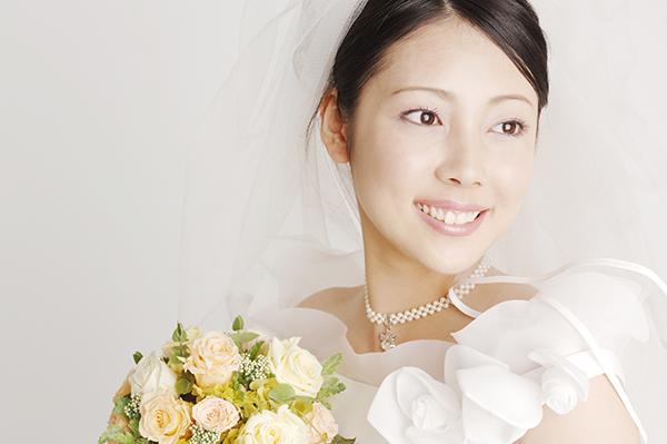 結婚写真は最高の笑顔で